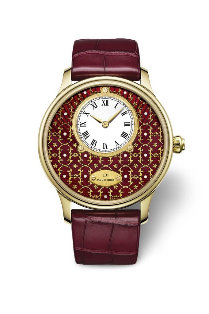Jaquet Droz Petite Heure Minute Paillonnée For The Only Watch
