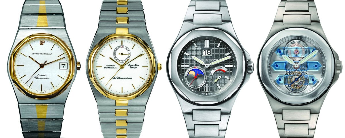Girard-Perregaux-Laureato-Vintage-collection-history