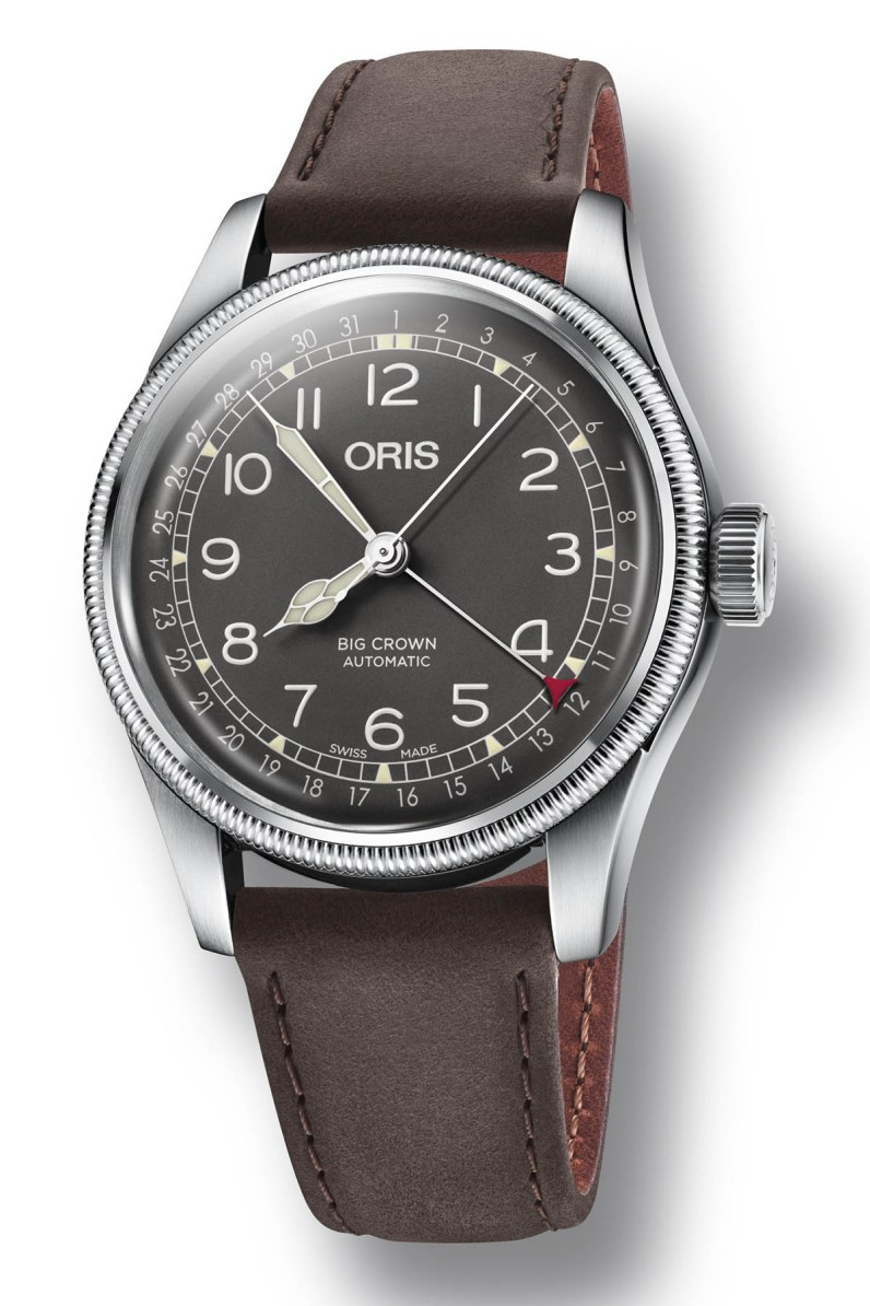 Oris-Big-Crown-Pointer-Date-steel-40mm-Baselworld-2018-1