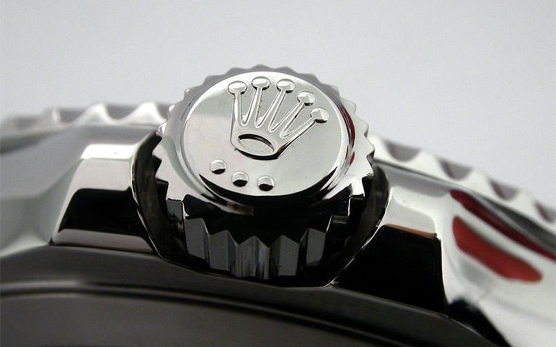 Rolex watch crown