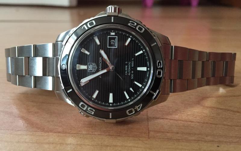 Long Term Review - TAG Heuer Aquaracer 500m - Wristwatch Review UK a190a7e957