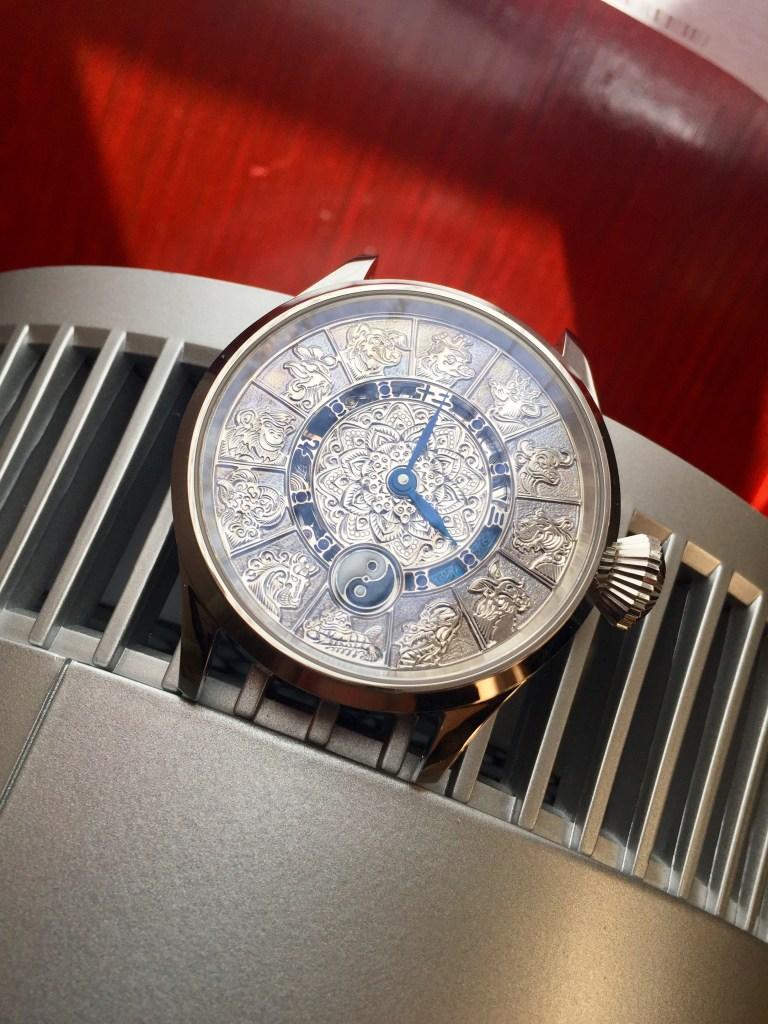 Artur Akmaev Chinese Zodiac watch