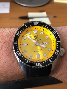 Deep Blue NATO Diver