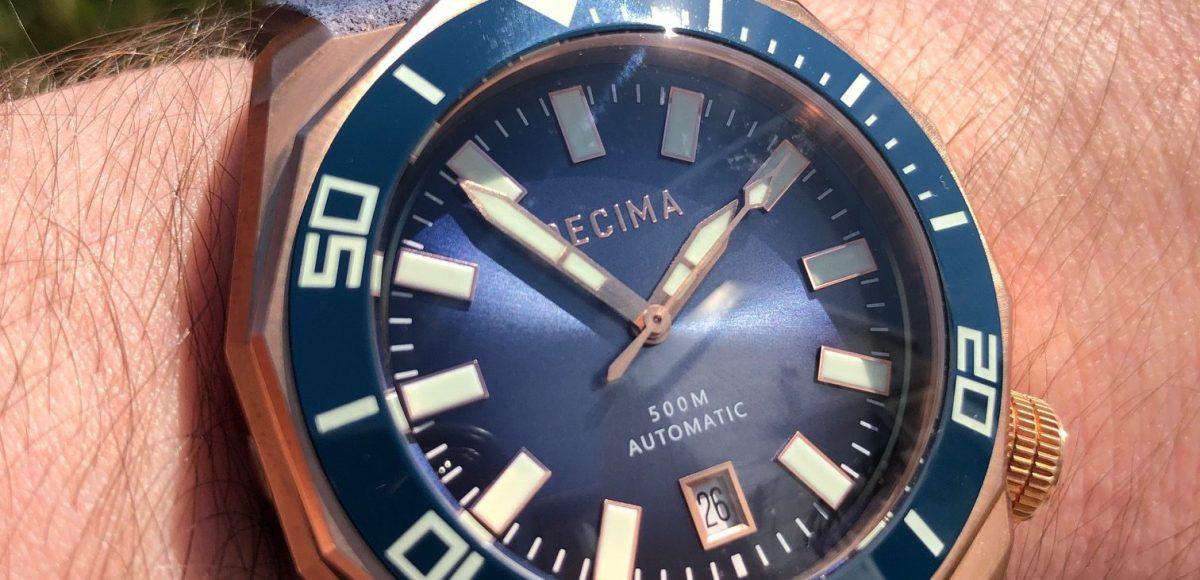 Decima Scylla Bronze Dive Watch Review