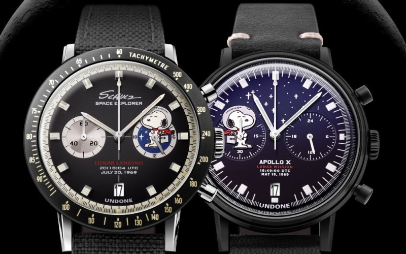 Space Program and Lunar Mission Watches