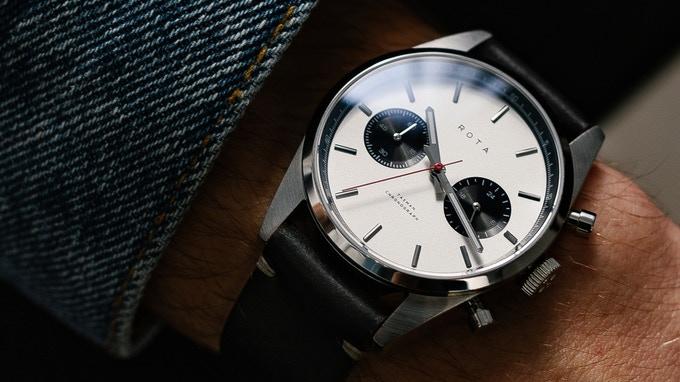 ROTA Tasman Chronograph Kickstarter watch