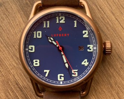 Lufbery Mark VII watch