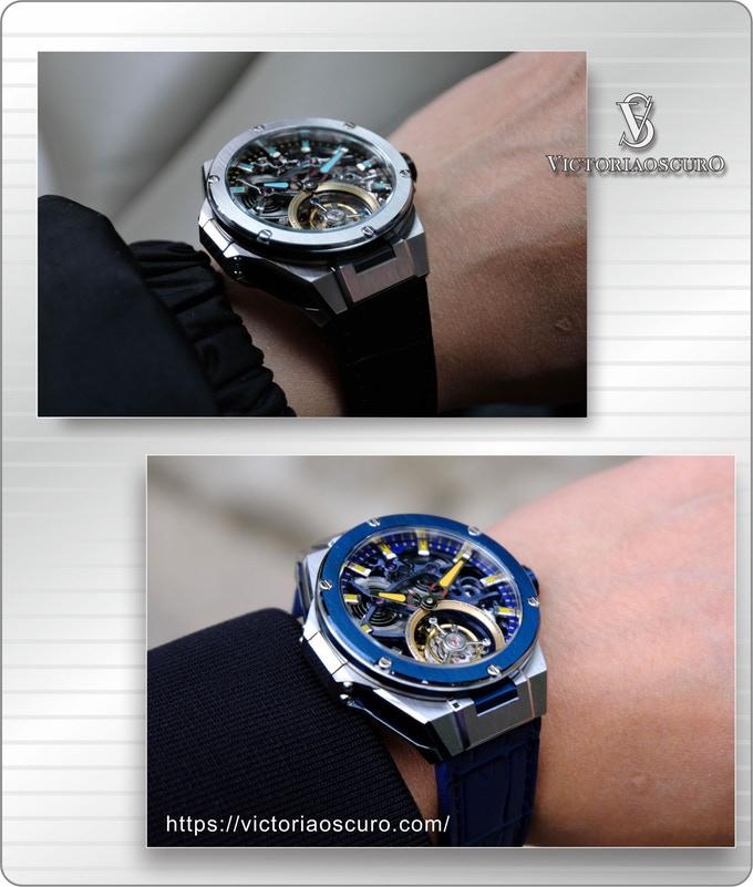 Victoriascuno tourbillon watch