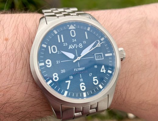 AVI-8 Flyboy Engineer AV-4075 watch review