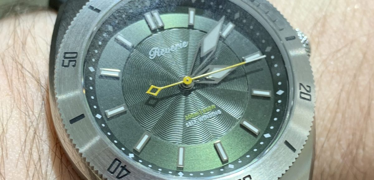 Reverie Diver Watch Review
