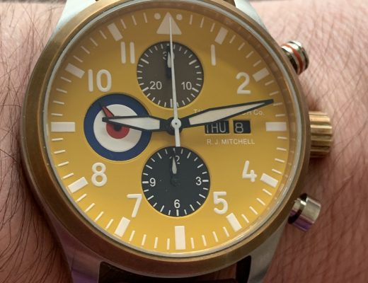 200 Watch Co. R.J.Mitchell watch review