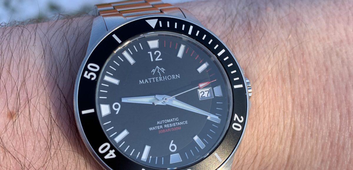 Matterhorn Divemaster 300 watch review