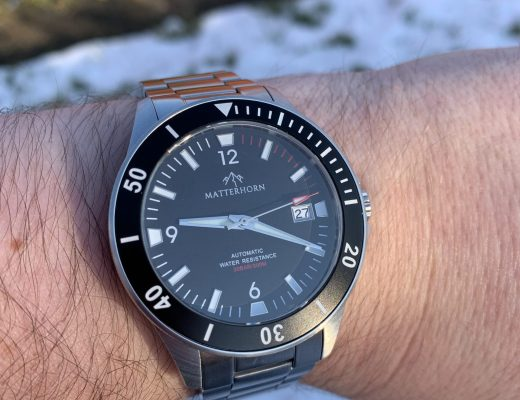Matterhorn Divemaster 300 watch review