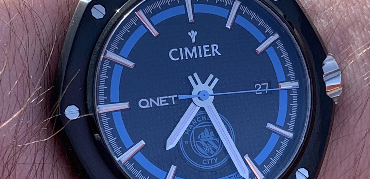 Cimier QNET Manchester City watch review