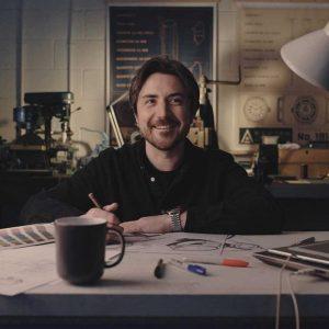 SAM HOLLAND, THE WATCH DESIGNER