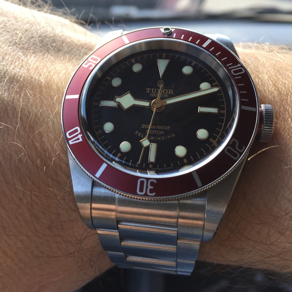 8745d0c1389 Tudor Black Bay Red – the original from 2012   Wrist Watch Review