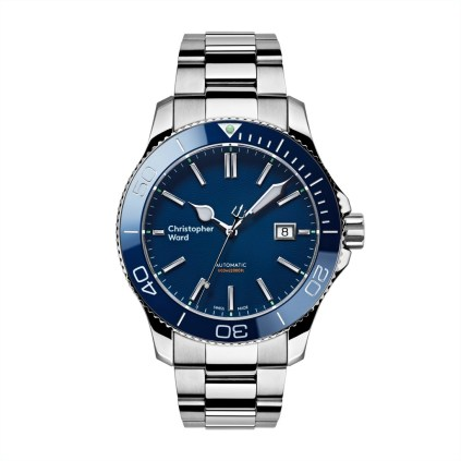 Christopher Ward C60 Trident Pro 600 Blue £725 www.christopherward.co.uk