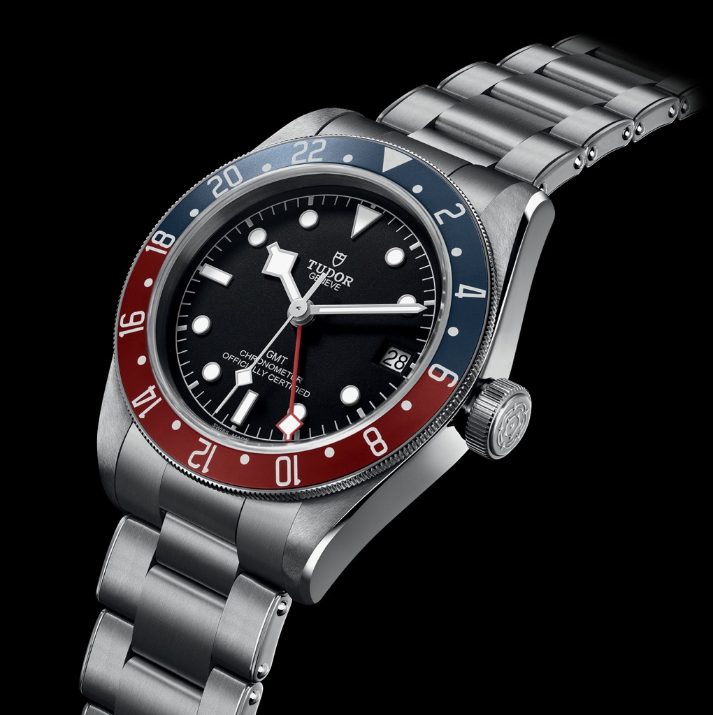 The Tudor Black Bay GMT, now ready to travel the world