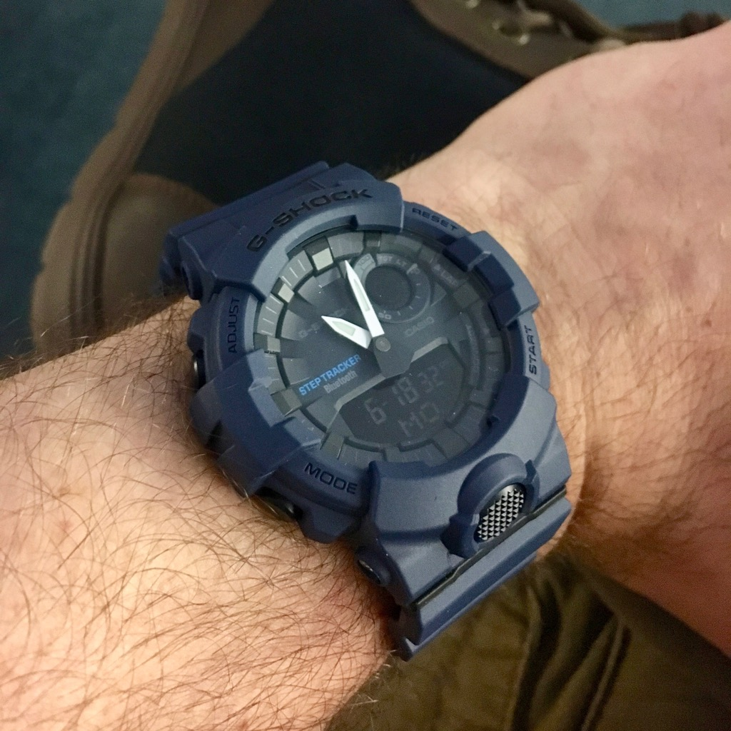 G Watch Getting Shock Gba800Wrist Casio With Active The Review 6Yf7gby