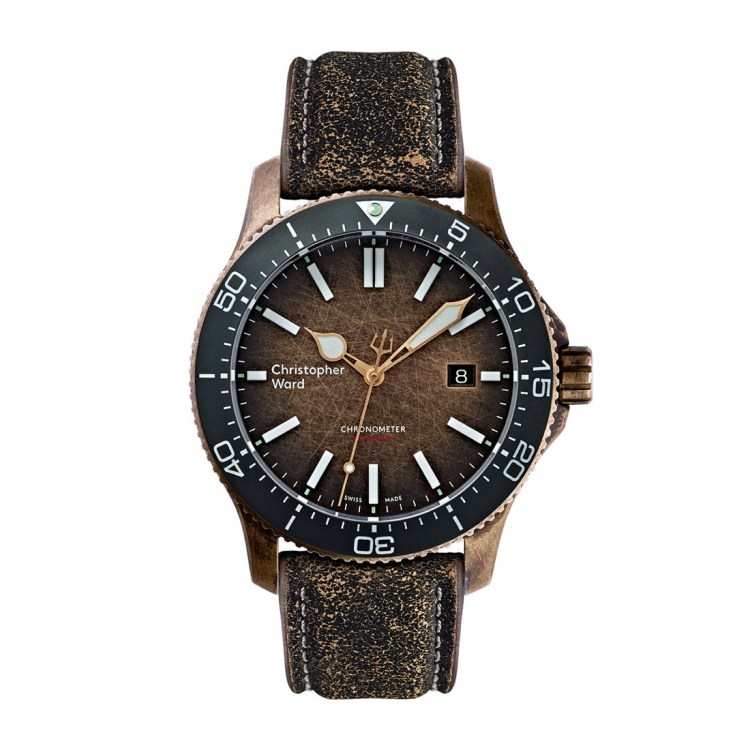 Christopher Ward's new Trident Bronze Ombre Christopher-Ward-C60-Bronze-Ombre-13