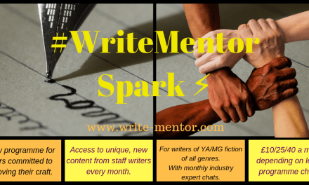 #WriteMentor Spark mentoring: A Blog Post by Camilla Chester