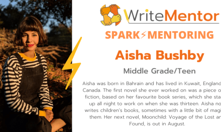 free Spark Mentoring opportunity for an author of colour