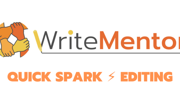 SPARK EDITING – A LIGHTING FLASH OF INSPIRATION FOR YOUR BOOK