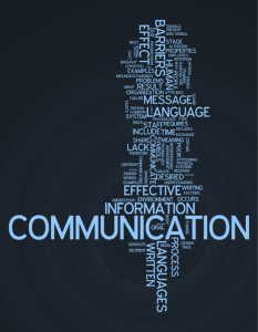 Image, word cloud of communications planning.