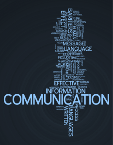 Good communications planning is a sign of clear thinking