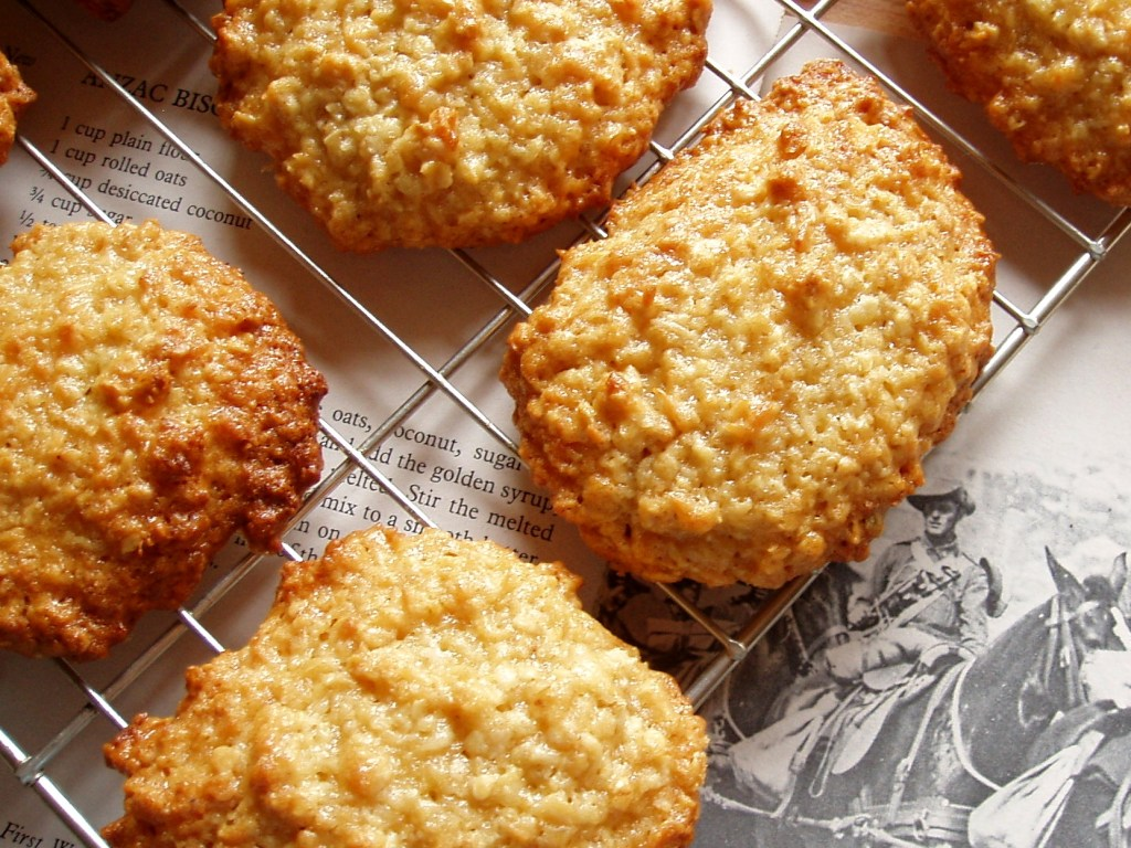 Image: Anzac biscuits.