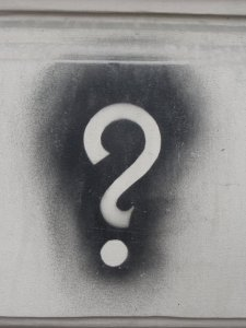 Image, question mark.