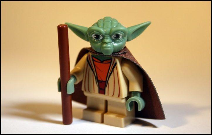 Image, Lego Yoda.