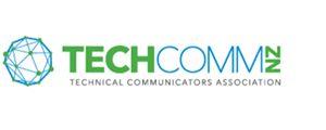 Image of logo, links to Technical Communicators of New Zealand website.