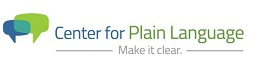 Logo image, Center for Plain Language.