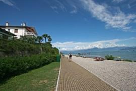 Miles of lovely paths along Lake Garda