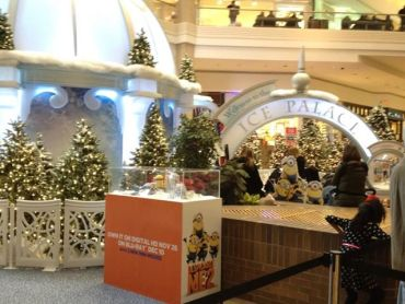 The Ice Palace Mall Display