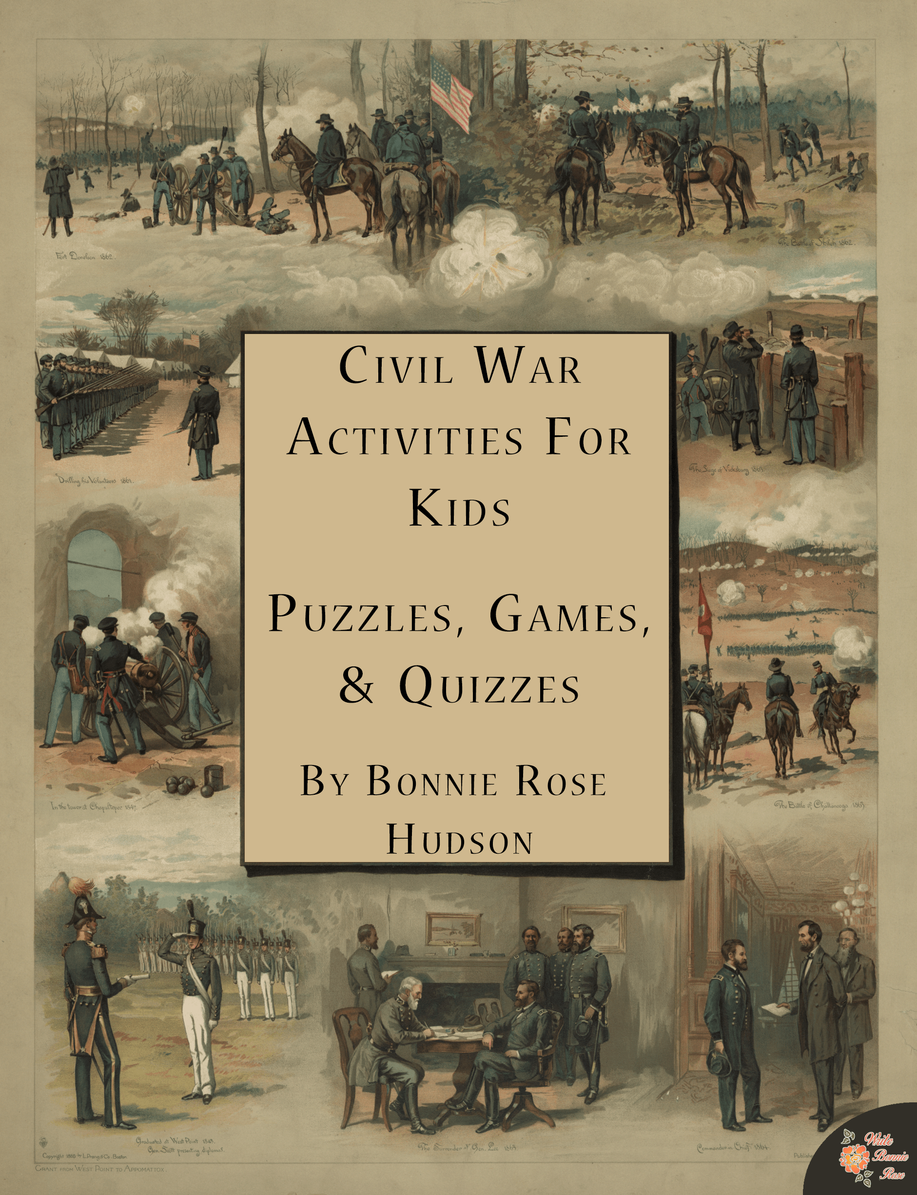 Civil War Activities For Kids Puzzles Games And Quizzes