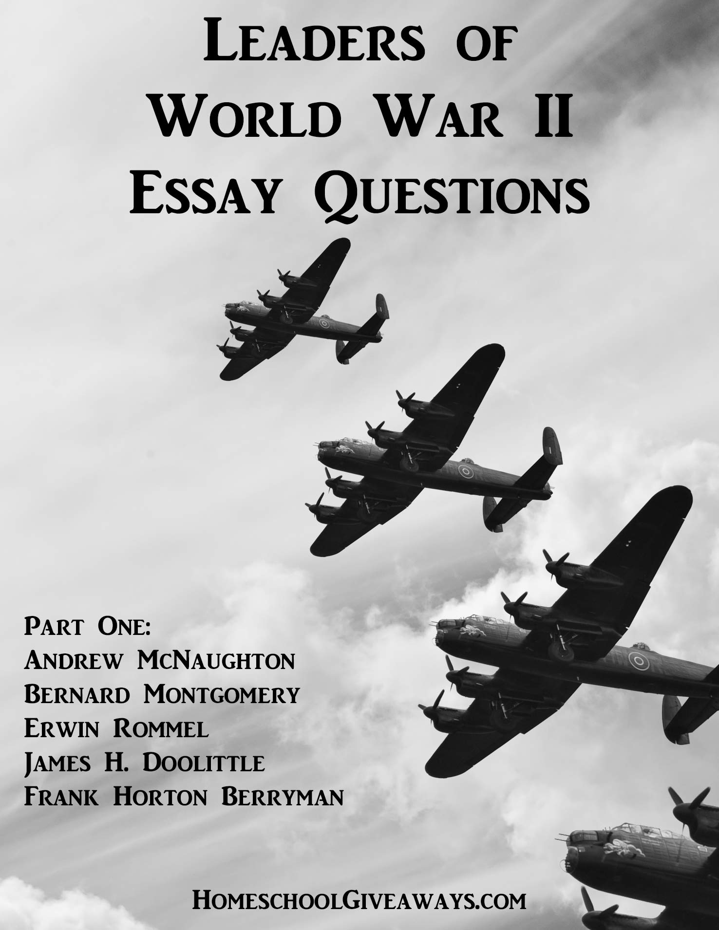 Leaders Of World War Ii Essay Questions Part One