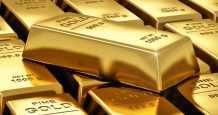 gold gain weakening dollar ounce