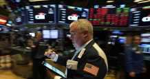 stocks record levels stock rose