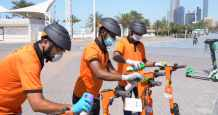 abu-dhabi scooter services