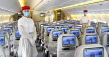 world emirates airline covid safest