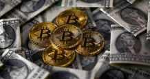 gold tokens bitcoin inflation retreats