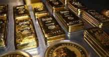 US gold treasury yields dollar