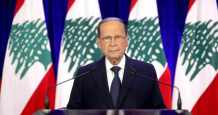 lebanon president incoming lau education