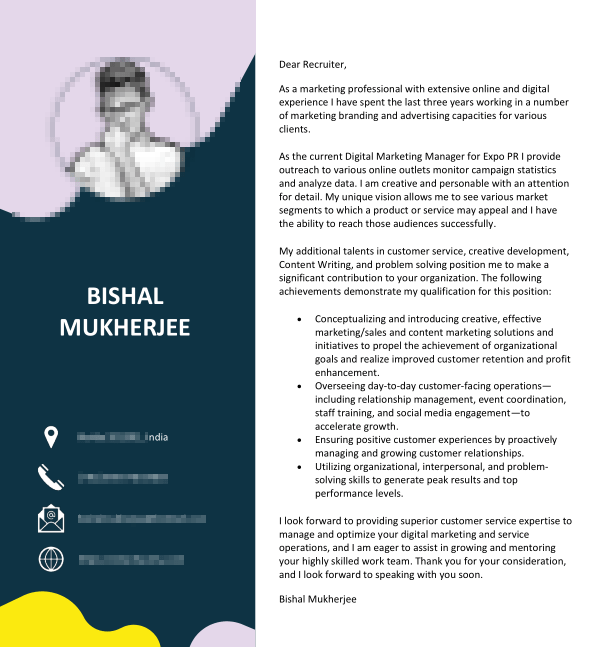 resume for remote jobs - cover letter format