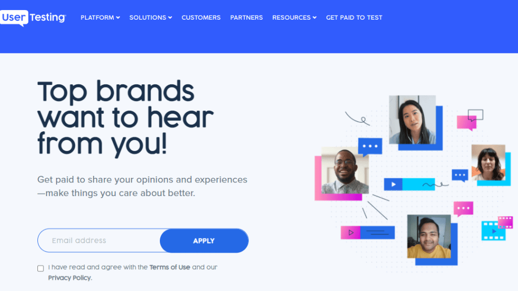 make money online   UserTesting