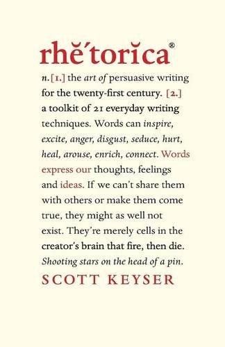 Rhetorica book published by Scott Keyser