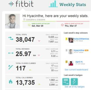2014 2 Fitbit