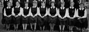 1954 schoolgirls